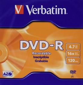 Verbatim DVD-R DVD-Recordable 16x