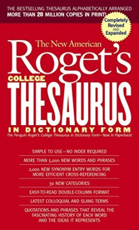 New American Rogets College Thesaurus in Dictionary Form (Revised & Updated)