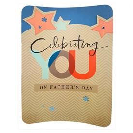 Hallmark Oversize XL Big Fathers Day Greeting Card 11 x 16