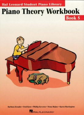 Piano Theory Workbook - Book 5: Hal Leonard Student Piano Library (Paperback)