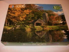 New England Farm Jigsaw Puzzle by Super Big Ben