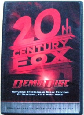 20th Century Fox Demo Disc 3 - DareDevil, X2 & Much More! (DVD)