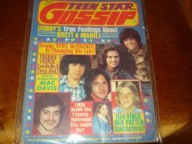 Teen Star Gossip Osmonds, Freddie Prinze, DeFranco, Linda Blair, Vince Van Patten, More April 1975 (Collectible Single Back Issue Magazine)