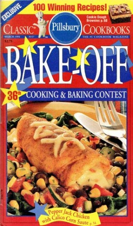 Pillsbury Bake-Off 36th Cooking & Baking Contest Classic Cookbook (Cookbook Paperback)