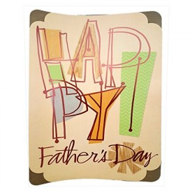 Hallmark Oversize XL Big Fathers Day Greeting Card 13 x 19 From All Of Us