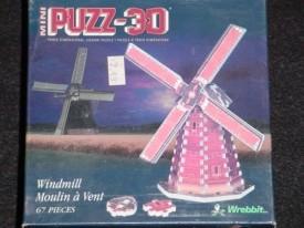Puzz-3D Mini: Windmill by Wrebbit
