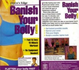 Banish Your Belly! Fast & Easy 15-Minute Workout, No Equipment Needed! (VHS)