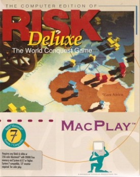 RISK Deluxe [3.5 inch diskette] [video game]