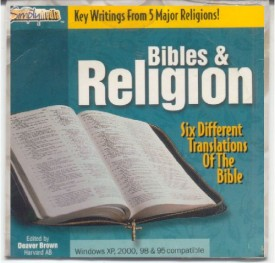 Simply Media Bibles & Religion Six Different Translations of The Bible (CD-ROM)