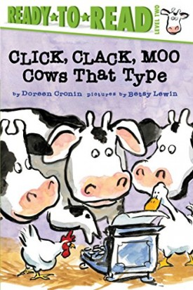 Click, Clack, Moo/Ready-to-Read: Cows That Type (A Click Clack Book) (Paperback)
