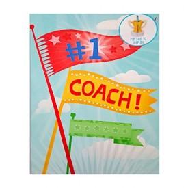 Hallmark Extra Large Display Greeting Card #1 Coach 11 x 16