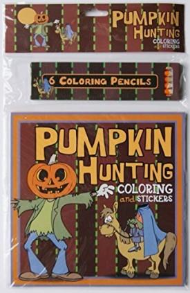 Halloween Pumpkin Hunting Coloring Kit  (Paperback)