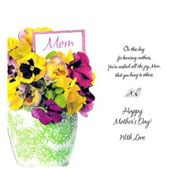 Mothers Day Greeting Card [Office Product]