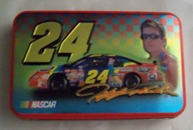 NASCAR 1999 Jeff Gordon Limited Edition Tin with Playing Cards