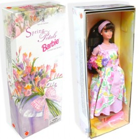 Avon Special Edition Spring Petals Barbie Doll Second in Series 1996