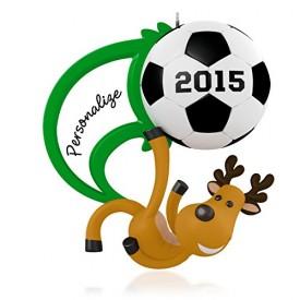 Soccer Star Personalized Ornament 2015 Hallmark