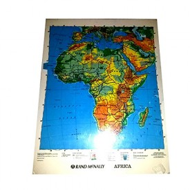 Rand Mcnally Africa 2-Sided Laminated Map 17 x 22 (Pack Of 5) [Office Product]