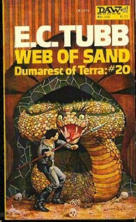 Web of Sand (Dumarest of Terra): No. 20 - DAW No. 348 (Vintage 1979) (Mass Market Paperback)