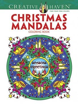 Creative Haven Christmas Mandalas Coloring Book (Creative Haven Coloring Books) (Paperback)