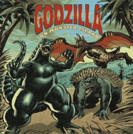 Godzilla on Monster Island (Pictureback(R)) (Paperback)
