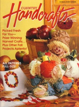 Country Handcrafts Magazine Back Issue Autumn 1994
