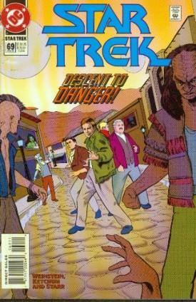 Star Trek #69 Comics March 1995