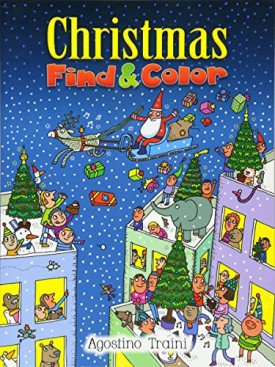 Christmas Find and Color (Dover Childrens Activity Books) (Paperback)