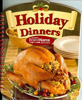 Holiday Dinners - Favorite Brand Name Recipes Spiral-bound (Paperback)