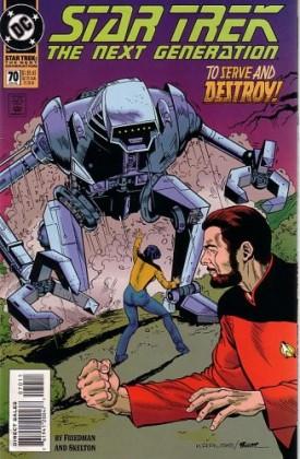 Star Trek: The Next Generation #70 Comics April 1, 1995