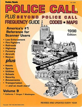 Police Call Plus Beyond Police Calls Frequency Guide 1998 Edition (Paperback)