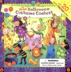 The Great Halloween Costume Contest (Sticker Stories) (Paperback)