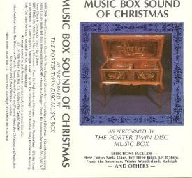 Music Box Sound of Christmas Porter Twin Disc Music Box (Cassette)