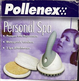 Pollenex SS740 Personal Spa Cordless Massager 3 Attachments