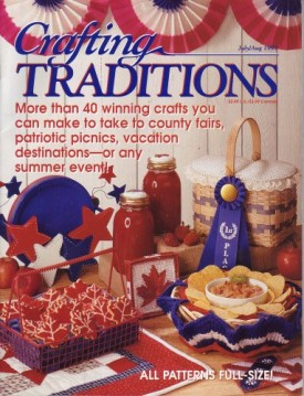 Crafting Traditions Magazine July/Aug Back Issue 1997