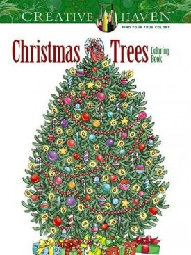 Creative Haven Christmas Trees Coloring Book (Creative Haven Coloring Books) (Paperback)