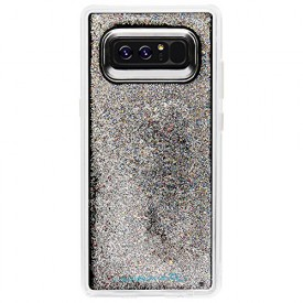 Case-Mate Note 8 Case - WATERFALL - Iridescent - Cascading Liquid Glitter - Military Drop Protection - Protective Design for Samsung Galaxy Note 8 - Iridescent