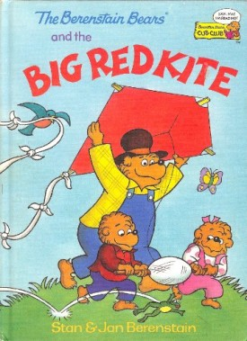 The Berenstain Bears and the Big Red Kite (Cub Club) (Vintage) (Hardcover)