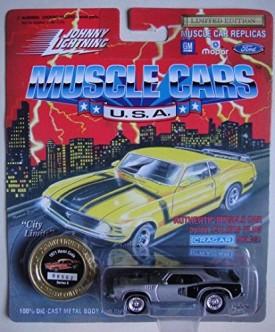 JOHNNY LIGHTNING MUSCLE CARS U.S.A. LIMITED EDITION GRAY/BLACK 1971 HEMI CUDA SERIES 8