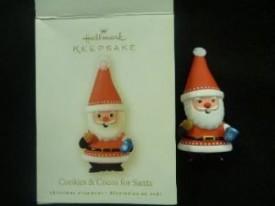 Hallmark Keepsake Ornament - Cookies & Cocoa for Santa 2008 (LPR3394)