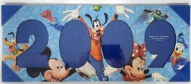 Walt Disney 2009 Characters 4 X 6 Photo Wall Frame