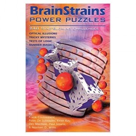 BrainStrains: Power Puzzles: 240 Mind-Blowing Challenges (Paperback)