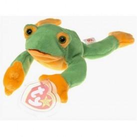Beanie Babies Ty Smoochy The Frog