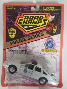 1996 Road Champs Police Series 1/43 Scale Emergency Vehicle Replica - Denver, Colorado Police