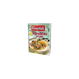 Campbells 4 Ingredients or Less Cookbook (Hardcover)