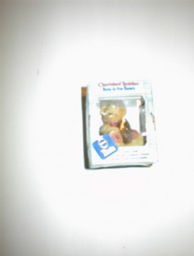 Cherished Teddies Beta Is for Bears Greek Alphabet Miniature Figurine - Theta