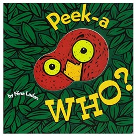 Peek-A Who? (Lift the Flap Books, Interactive Books for Kids, Interactive Read Aloud Books) (Hardcover)