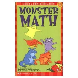 Monster Math (Scholastic Reader, Level 1) (Paperback)