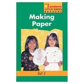 Making Paper (Little Green Readers, Set 3) (Paperback)