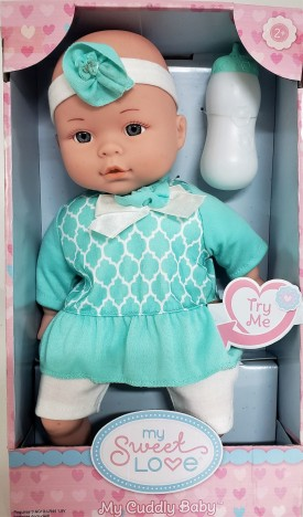 """My Sweet Love 12.5"""" My Cuddly Baby with Sound"""