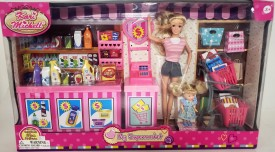 Kari Michell My Supermarket Doll Playset